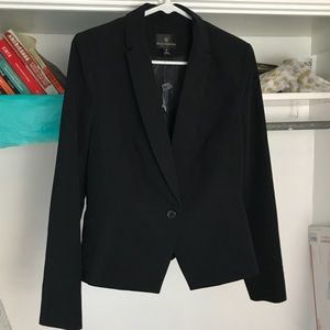 Suit blazer.